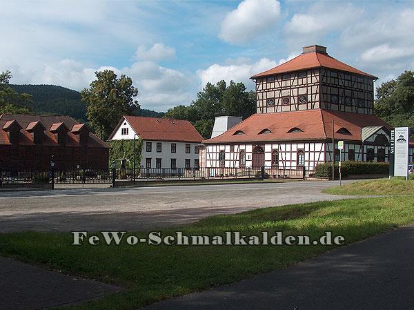 """museum-neue-huette Tag des offenen Denkmals in der """"Neuen Hütte"""" von Schmalkalden - ein Reisebericht"""